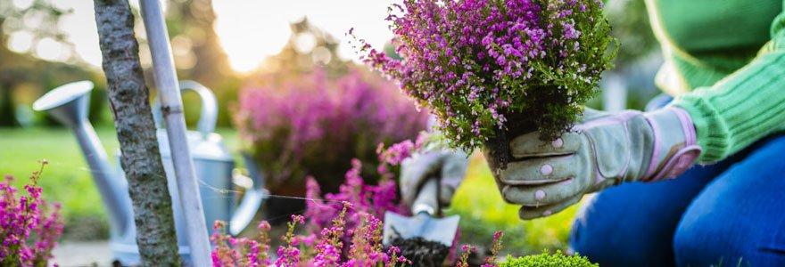 jardin et sante mental