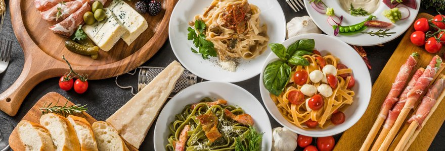 menus italiens