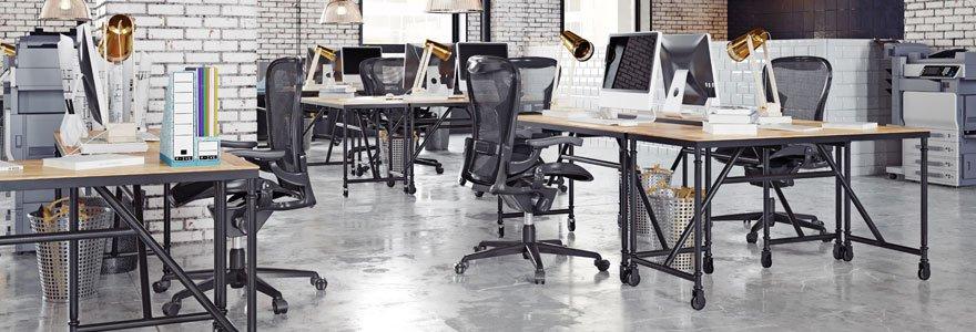 Meubles ergonomiques de bureau