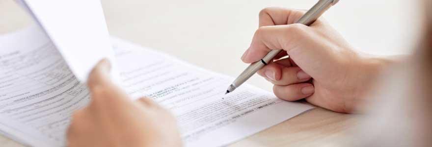 Remplir un formulaire ESTA